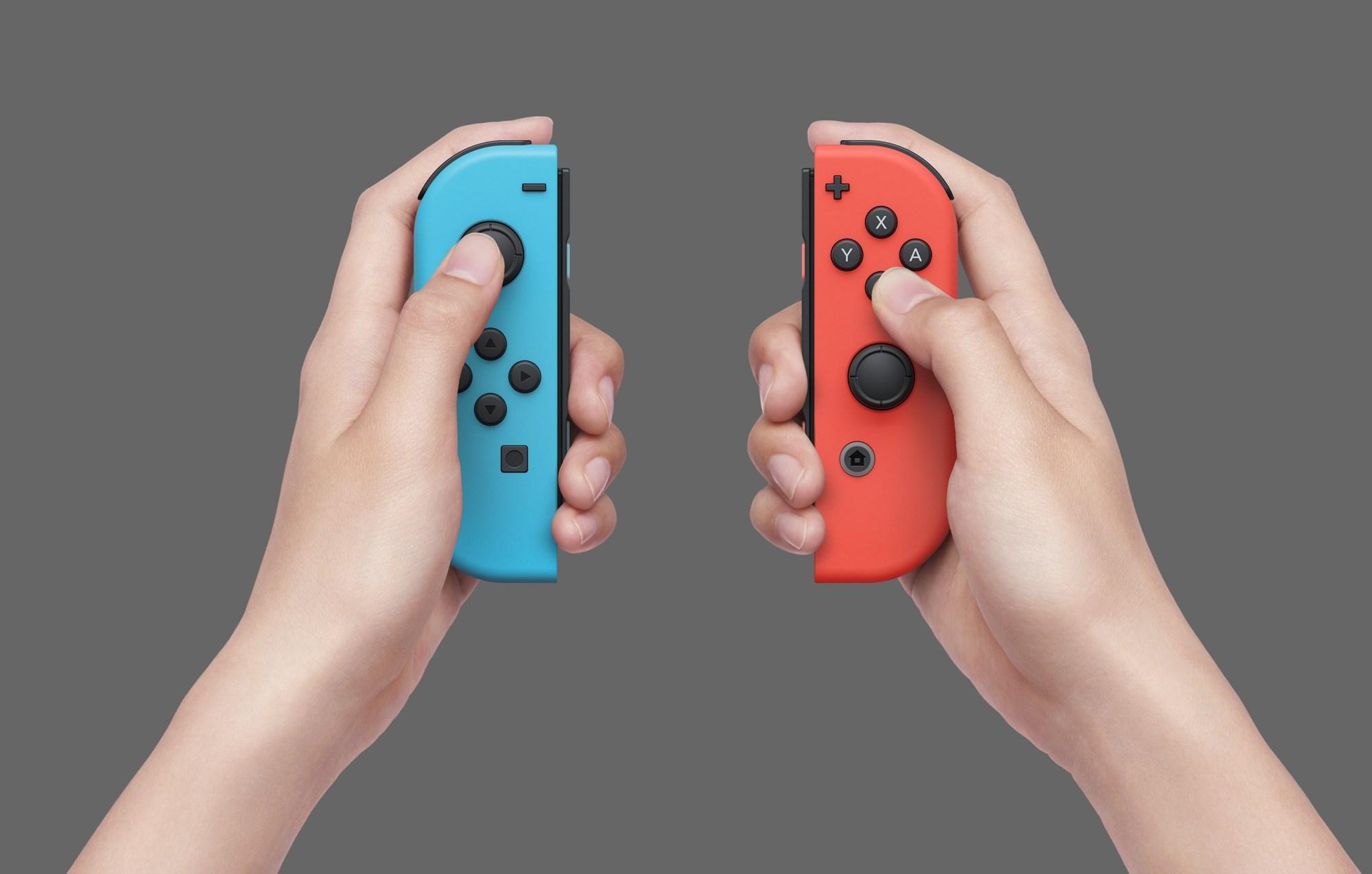 Les Joy-Con de la Switch