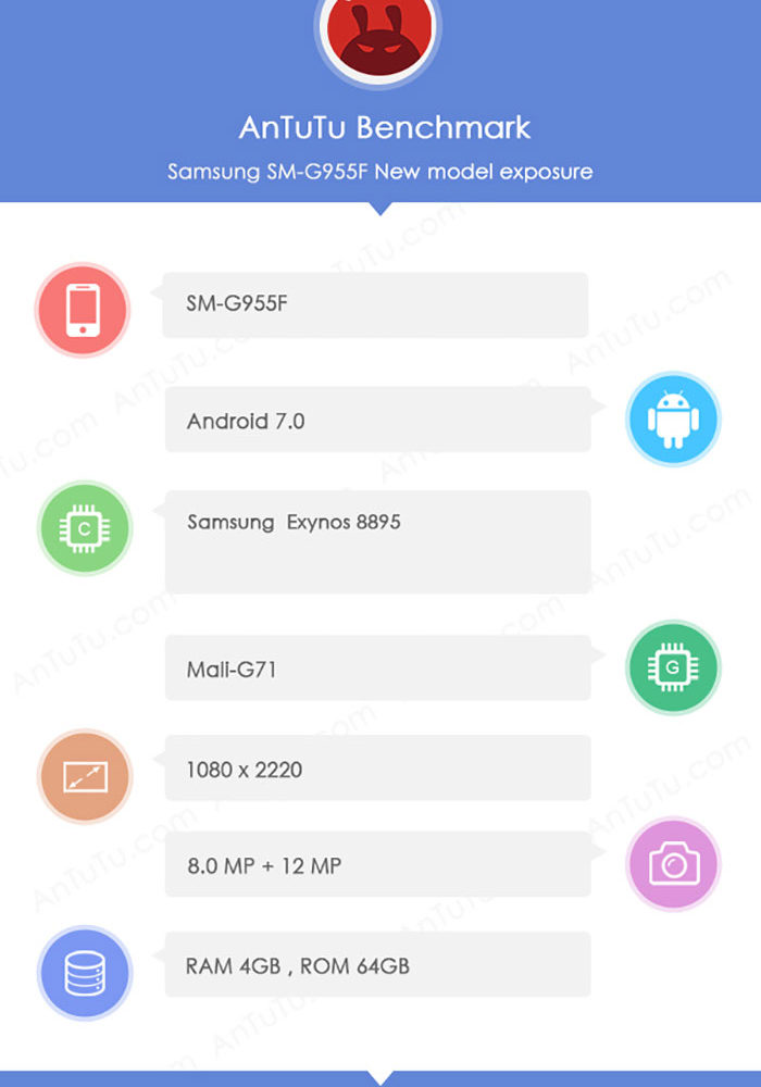 Bench Galaxy S8+ : image 1