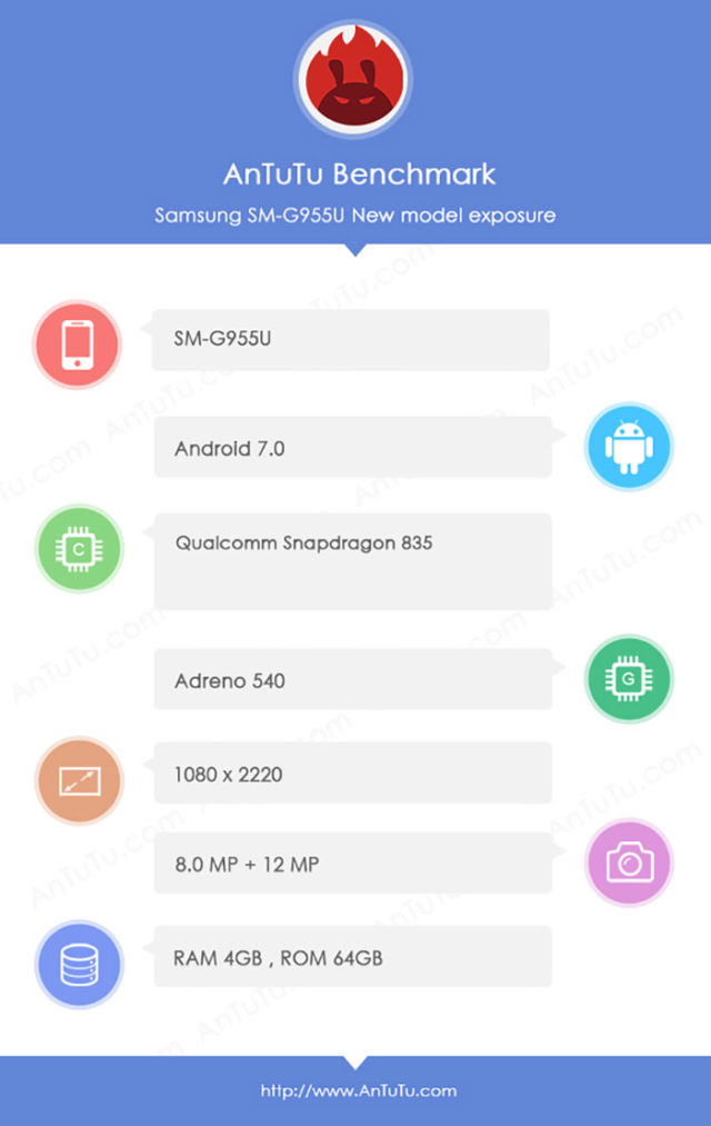 Bench Galaxy S8+ : image 2