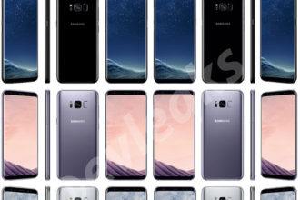 Couleurs Galaxy S8