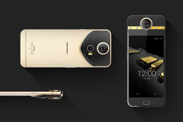 Ce drôle de téléphone est capable de filmer à 360°