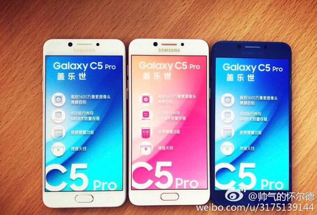 Photo Galaxy C5 Pro : image 2