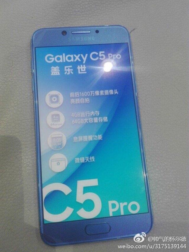 Photo Galaxy C5 Pro : image 3