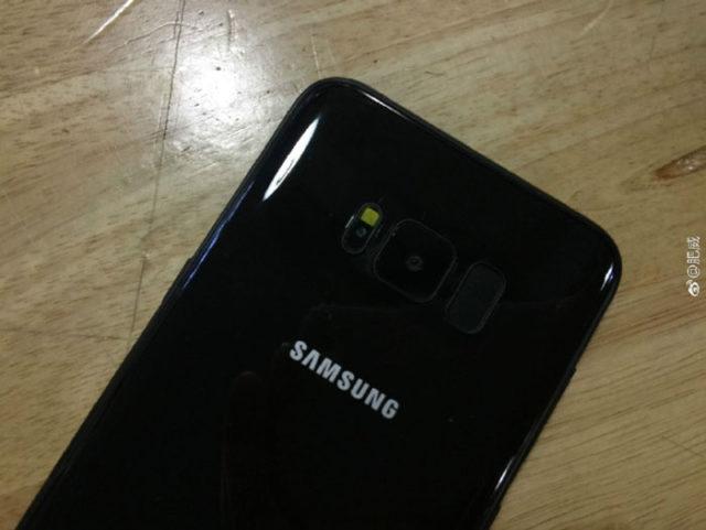 Galaxy S8 Noir Brillant : image 1