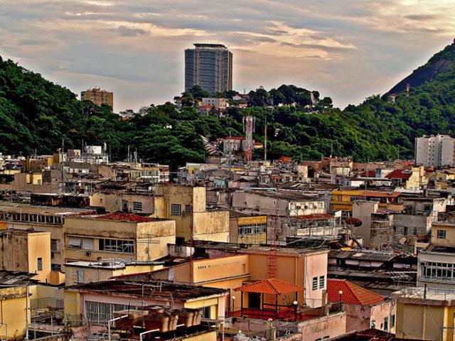 Google Maps favelas