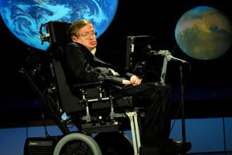 Stephen Hawking Hologramme