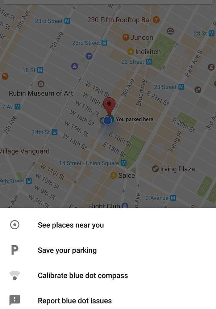 Google Maps Parking 1
