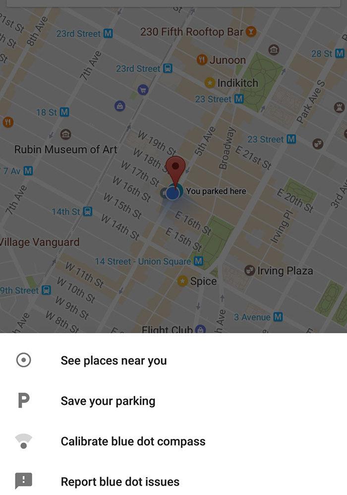 Google Maps Parking 1