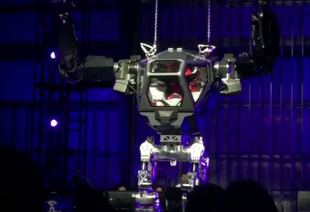 Robot Bezos
