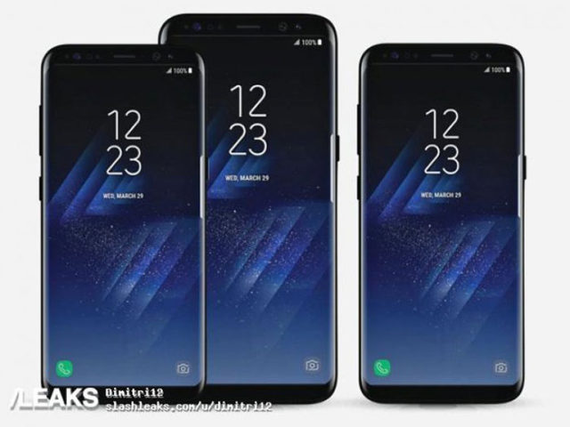Rendu Galaxy S8 1