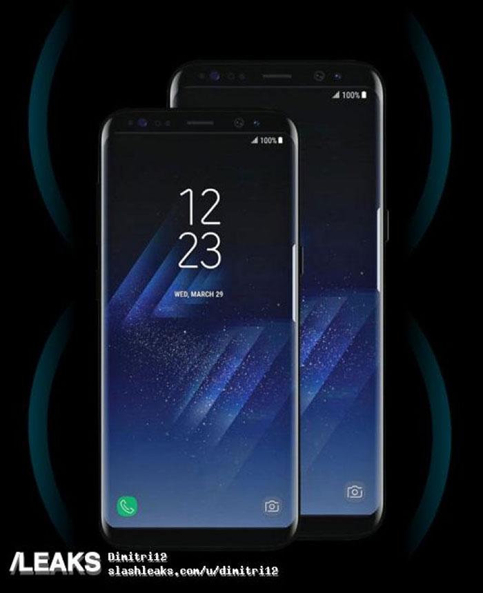 Rendu Galaxy S8 2