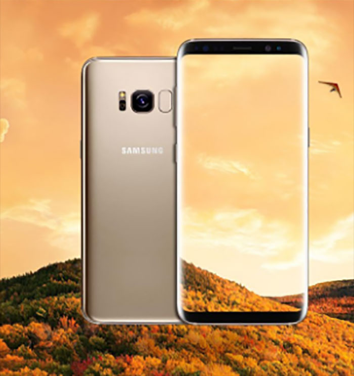 Rendu Galaxy S8 : image 3