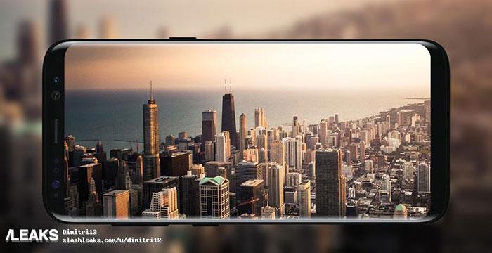 Rendu Galaxy S8 3