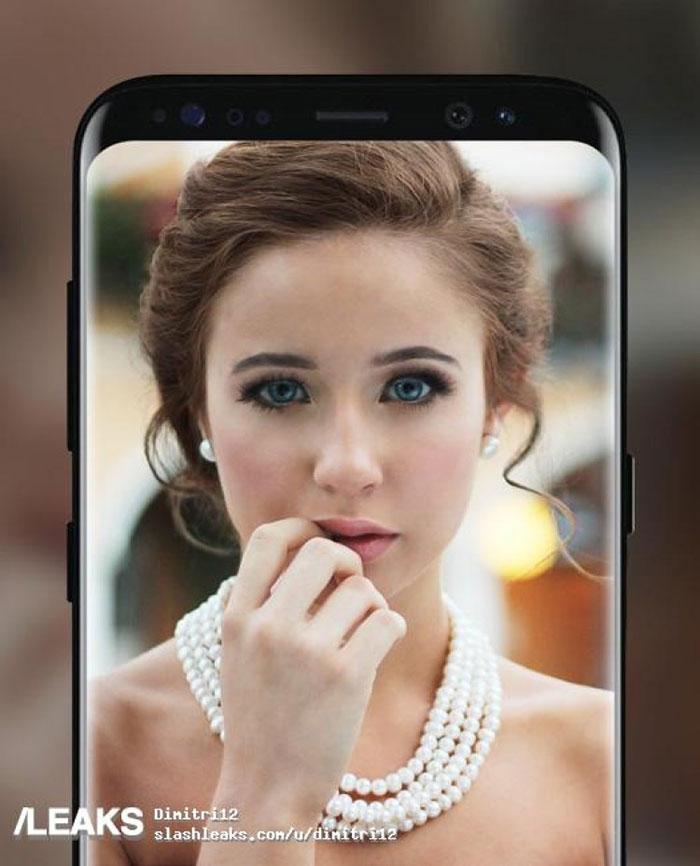 Rendu Galaxy S8 4