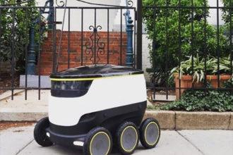 Robot livreur