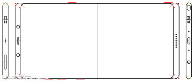 Schéma Galaxy Note 8