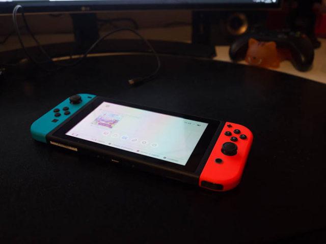 Prise en main Switch : image 5