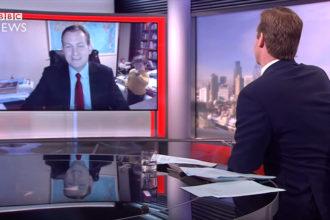 Vidéobombing BBC