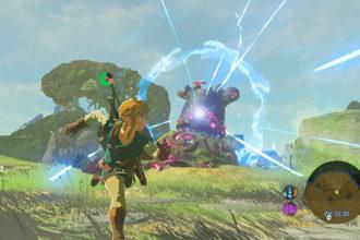 Chute framerate Zelda