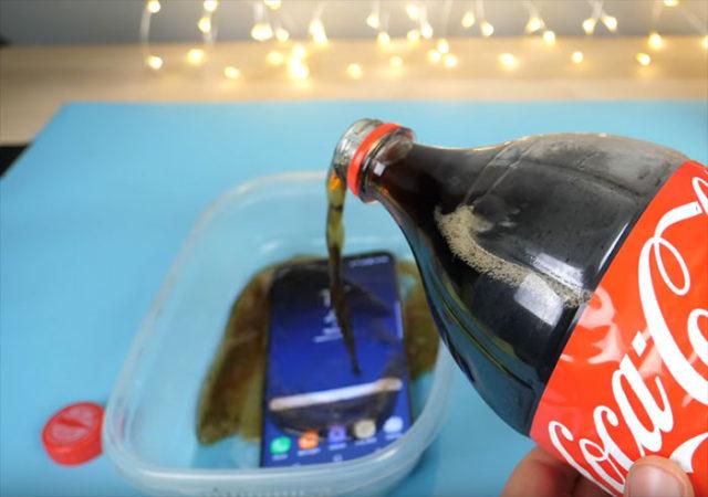Coca Galaxy S8