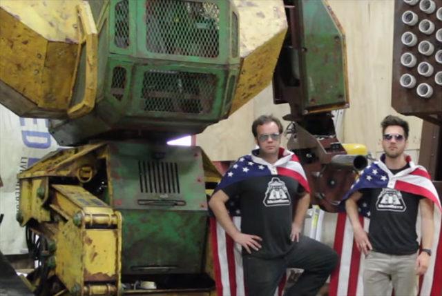 Duel Robots