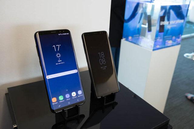 Prise en main Galaxy S8 : image 1