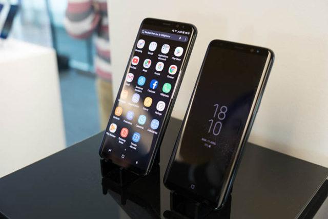 Prise en main Galaxy S8 : image 2