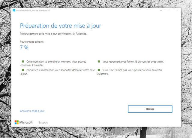 Installer Windows 10 Creators Update 2