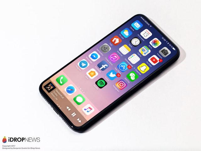 iPhone 8 : rendu 2