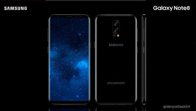 Galaxy Note 8 Concept 3