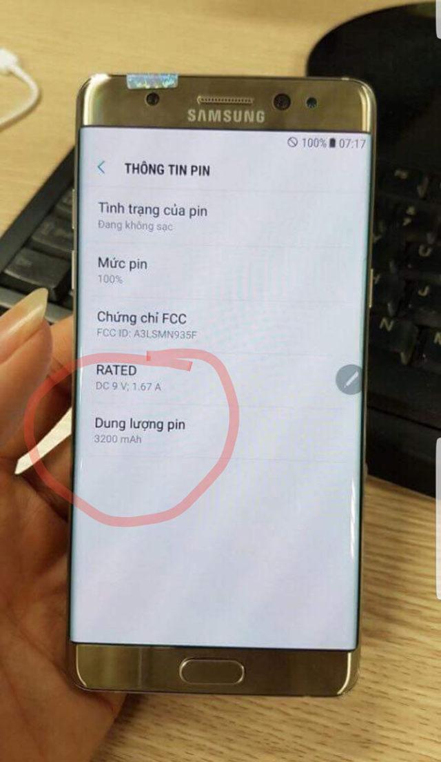 Galaxy Note 7R : image 3