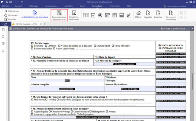 transformer un document word en pdf dynamique