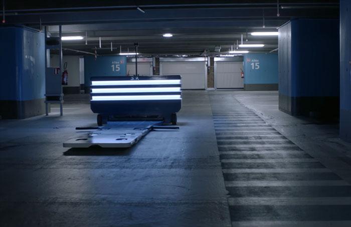 a l 39 a roport de roissy c 39 est un robot qui gare votre voiture. Black Bedroom Furniture Sets. Home Design Ideas