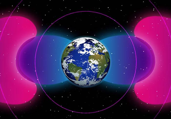 La Terre est enveloppée par une bulle d'ondes radio