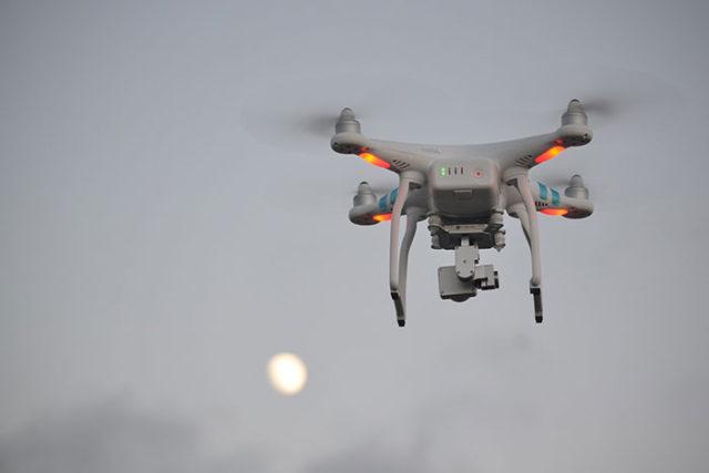 Barrière drones