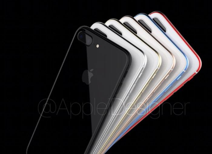 L'iPhone 7s Plus et l'iPhone 8 réunis dans un magnifique concept