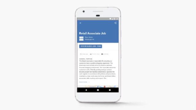 Google for Jobs : image 3