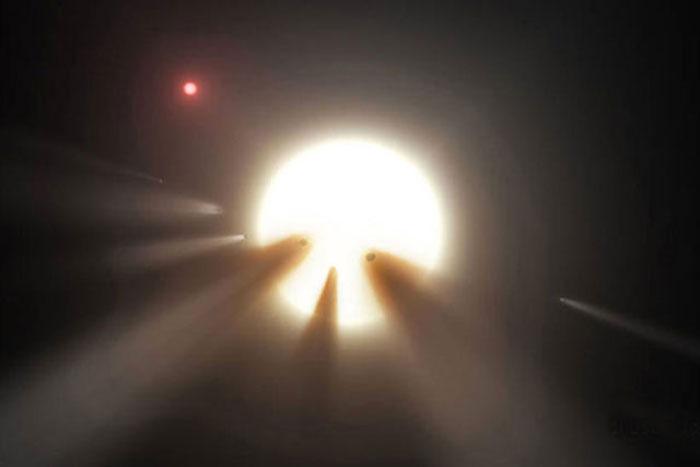 Etoile de Tabby : enfin une explication aux variations lumineuses de l'étoile