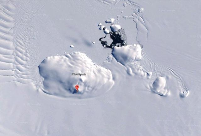 OVNI Antarctique