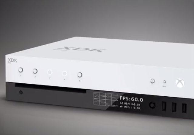 Xbox Scorpio : Le kit de développement fuite en vidéo