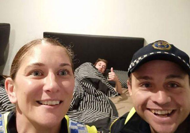 Selfie policier