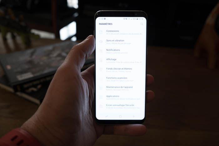 Test Galaxy S8 : image 7