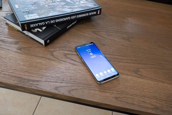 Test Galaxy S8 : image 8
