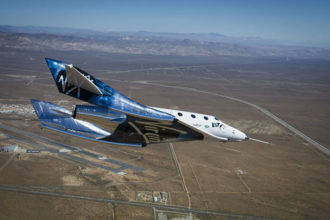 Test Virgin Galactic