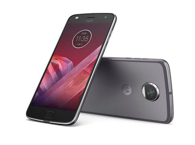 Motorola lance Moto Z2 Play et Moto Mods