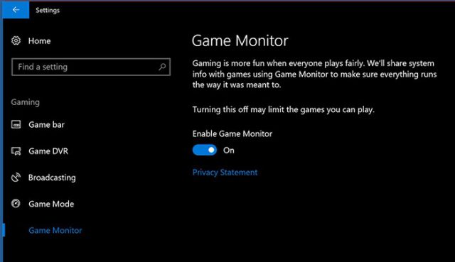 Capture Game Monitor