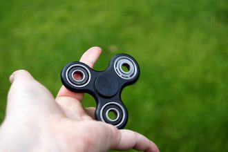 Hand Spinner Connecté