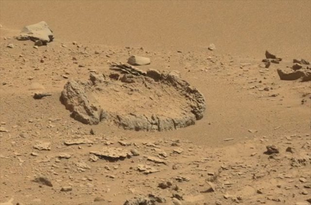 extraterrestre sur mars
