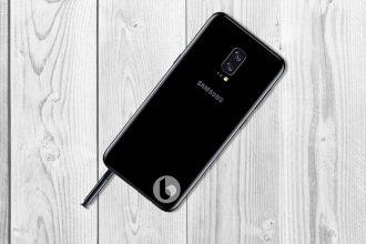 Galaxy Note 8 Rendu