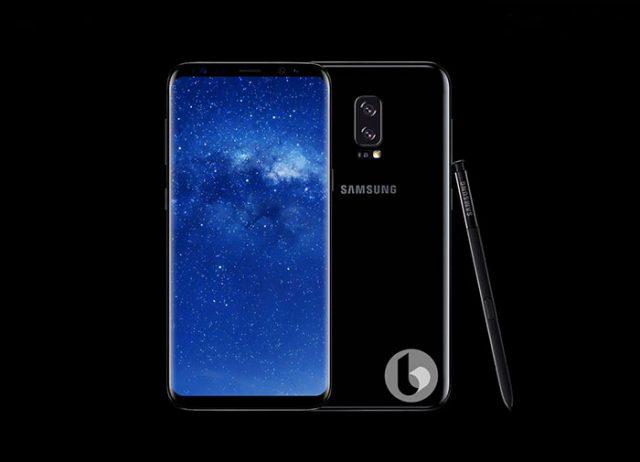 Galaxy Note 8 Rendu 3